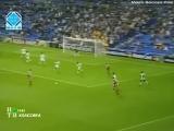 Лига Чемпионов 2000/01. Реал (Испания) - Спартак (Москва) - 1:0 (0:0).