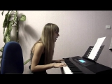 Cosmic Gate & Emma Hewitt - Be Your Sound (piano cover) by Fialka