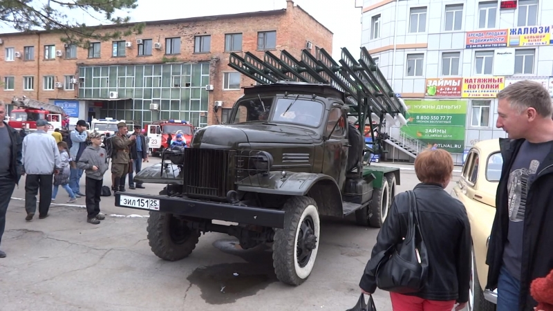 ЗИС-151 - БМ-13НН и ГАЗ-М20В » Freewka.com - Смотреть онлайн в хорощем качестве