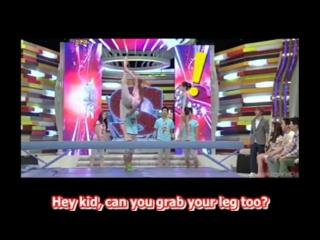 f(x) Victoria Flexibility vs gymnast girls - YouTube