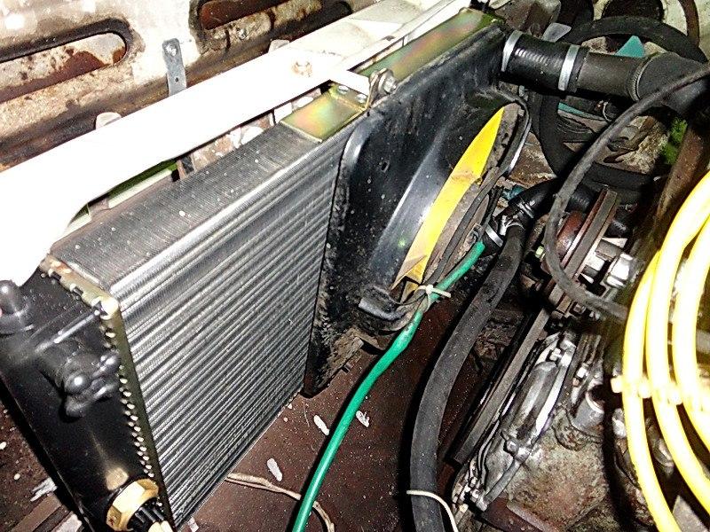 Замена радиатора