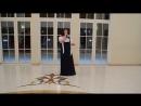Бал в Тихвине 30.01.16.  Поёт Юлия Виноградова. Снег кружится.