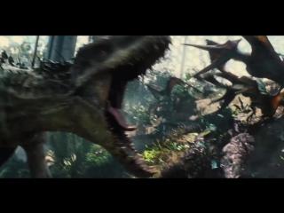Мир Юрского периода / Jurassic World (2015) Трейлер BDRip 720p [vk.com/Feokino]