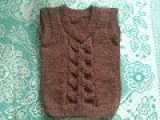 ♥♥♥Вязаный жилет спицами♥♥♥Безрукавка спицами♥♥♥Часть 4♥♥♥Жилетка для девочки♥♥♥