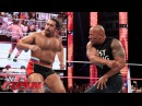 The Rock confronts Rusev Raw, Oct. 6, 2014
