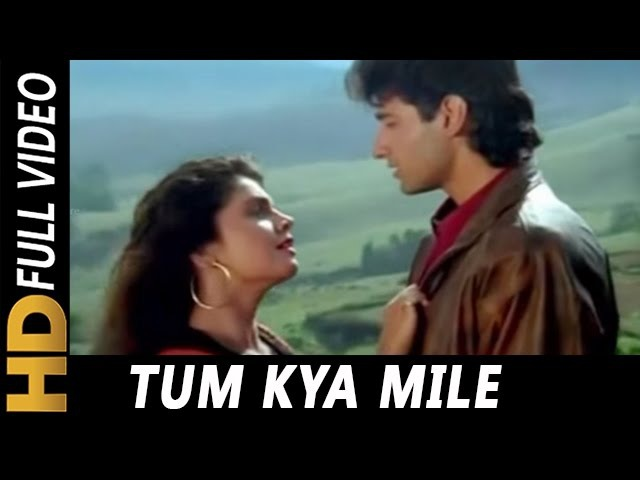 Tum Kya Mile Jaane Jaan | Lata Mangeshkar, Udit Narayan | Saatwan Aasman 1992 Songs