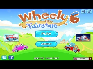 Wheely 6 Fairytale Walkthrough All Levels HD