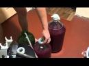 Приготовление вина из темных сортов винограда Часть 4 Виноград 2015