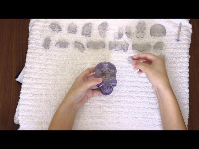 Видео-инструкция по сборке головоломки Crystal puzzle Череп » Freewka.com - Смотреть онлайн в хорощем качестве
