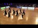Vera Tyumen Standard Team, RUS | 2014 World Formation Standard | DanceSport Total
