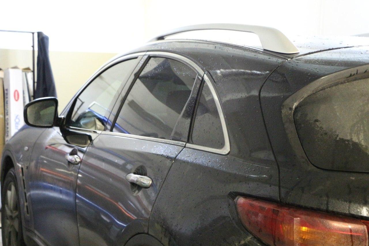 Тонирование авто в Гродно Infiniti QX70