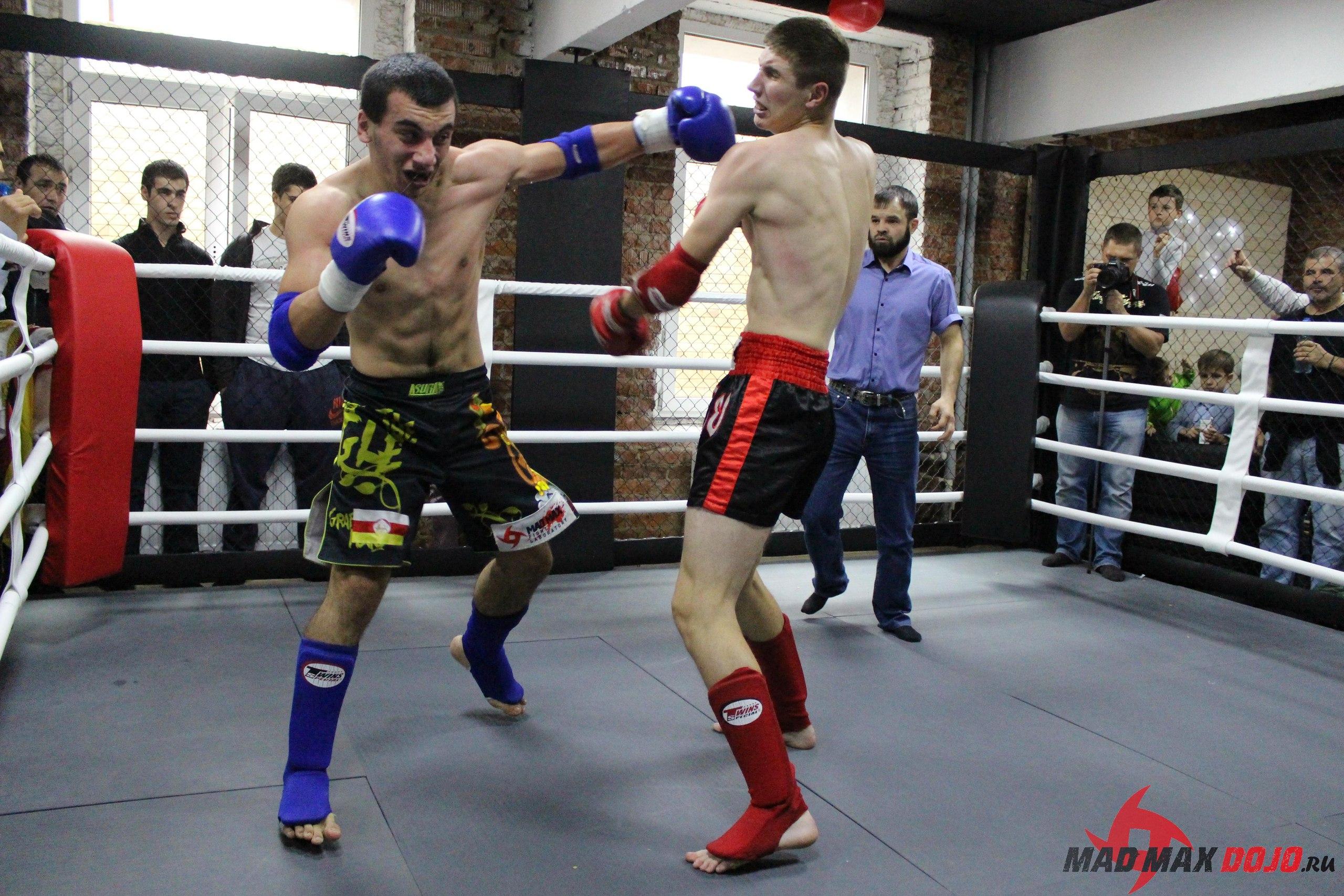 Артур Мамитов в бою