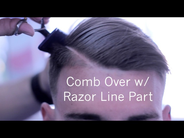 Comb Over ✂ Side Part | Barber Tutorial | Low Skin Fade | Scissor Work | Corte de pelo | Kv7