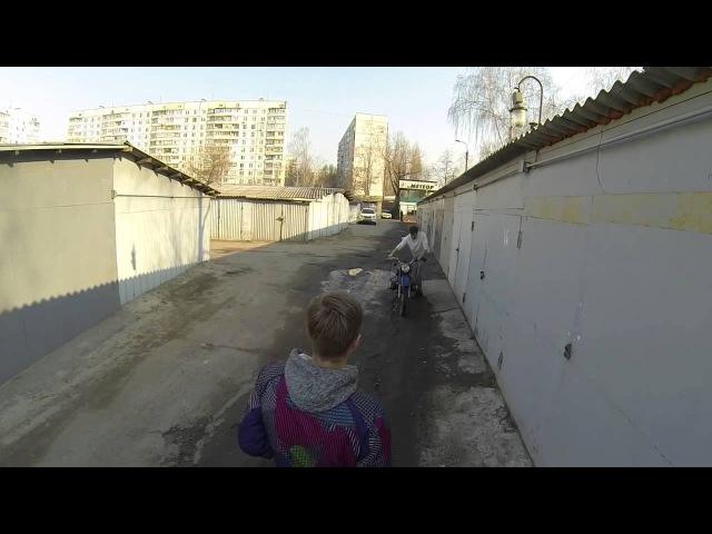 Булькающий мотоцикл Урал (без глушителя)/ Motorcycle URAL imz 8.103.10 / BIKE SOUND