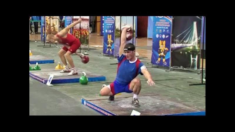 Johny Benidze - 137142 kettlebell biathlon / Джони Бенидзе - 137142 в сумме двоеборья