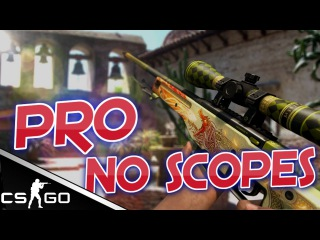 CS:GO - Epic PRO NO SCOPES ft. kennyS, Shroud, Device & Olofmeister