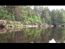 Туристический поход на байдарках по реке ПРА ч 2 Pra River