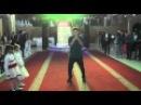 Kulman Elaman dance party Tutting hip-hop popping dancer
