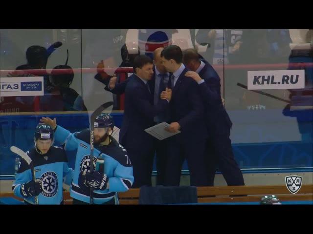 Сибирь - Адмирал 4:0 (Серия 4:0), Кубок Гагарина 2016, Восток Раунд 1 01.03