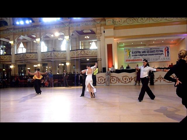 Blackpool 2014 - Women Latin A Class Final - European Championchips- Same-Sex Dance Festival