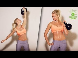 Crossfit Kettlebell Workouts for Women - Crossfit Games Athletes