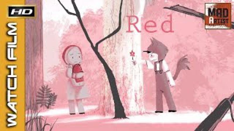 2D Animated Short RED Cute Romantic Animation by Hyunjoo Song CalArts