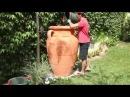 Декоративные емкости для сбора дождевой воды амфоры бочки колонны и т д