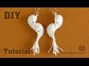 Macramé Angel Wings - Earrings Tutorial