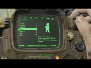 Fallout 4 -- Pip-Boy Walkthrough -- Official Gameplay Demo #3 (E3 2015)