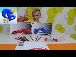 Лепим машины набор дизайнера 3D Car Designer Ses Creative