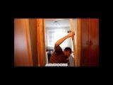 Демонтаж дверной коробки в 504 серии дома