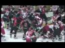 Самая массовая драка в хоккее