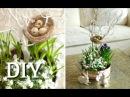 Osterdeko basteln DIY Hübsche Blumendeko für Ostern selber machen Deko Kitchen