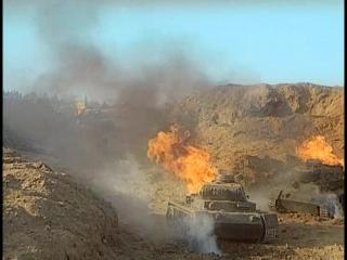 Бой советского танка против пяти немецких (Вечный зов)