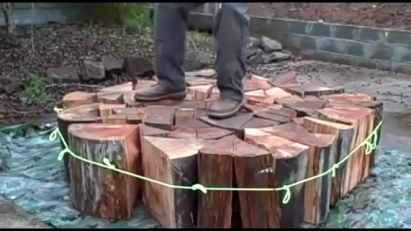 Woodcutter Lifehacks_ Splitter, Saw and Uprooting Device