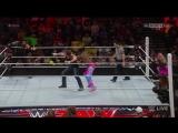 (WWEWM) ВВЕ РО 01.02.2016 - Дин Эмброуз и Роман Рейнс против Нового Дня (Кофи Кингстон и Биг И)