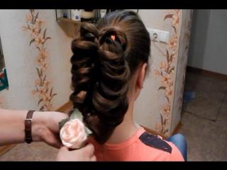 Плетение кос. Урок № 1 от Ольги Захаровой