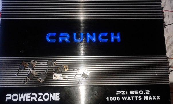 CRUNCH(Powerzone) 1000W maxx