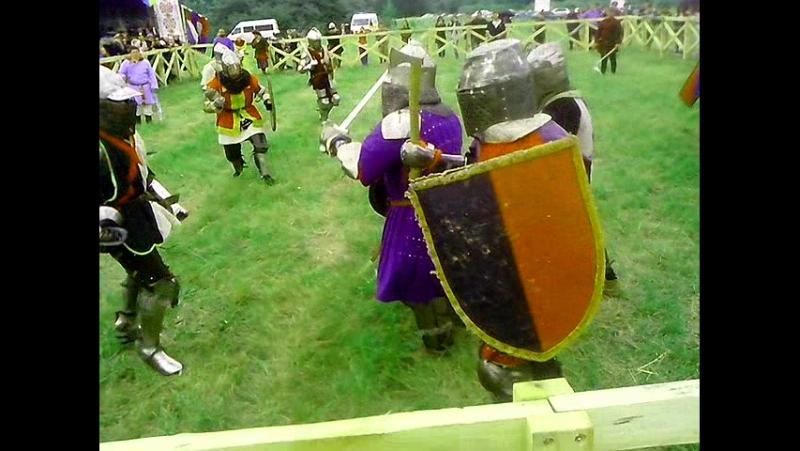 Лицарські бої, на фестивалі Сіверські вікінги, реконструкція середньовічної культури