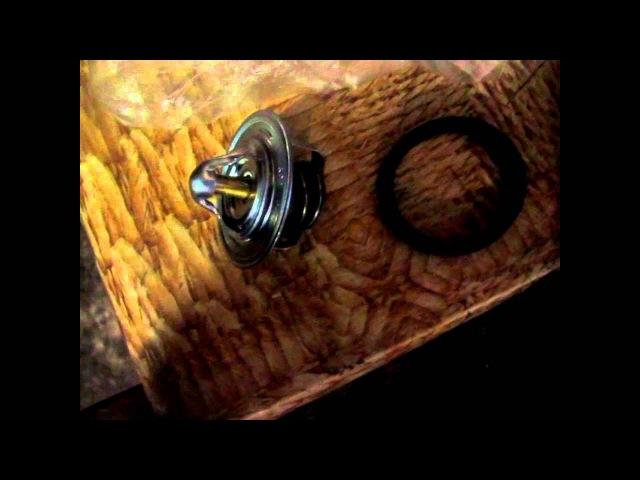Daewoo Lanos 1 5 Ланос Установка дополнительного насоса помпы и замена термостата без снятия грм