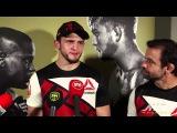 Интервью Альберта после боя с Джобеном на UFC 192