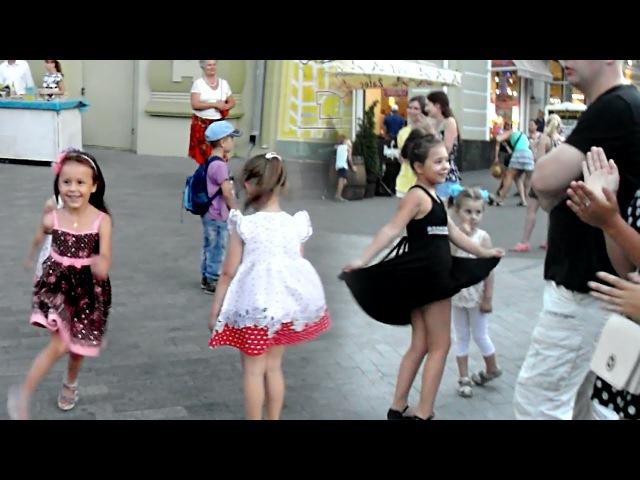 Оц-тоц первертоц, бабушка здорова, Одесса. Танцуют все! Odessa Songs, Deribasovskaya Street