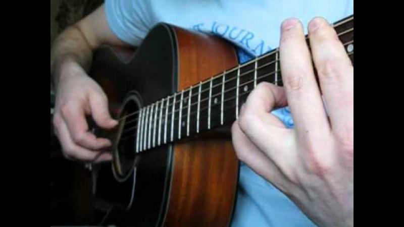 Ноты для гитары. Песня Летний дождь