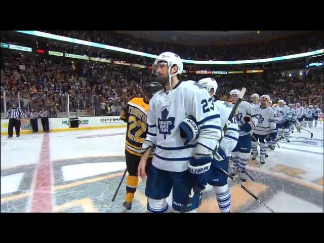 Patrice Bergeron (3) Overtime Game Winner. Toronto 4 Boston 5. Bruins Wins Series 4-3. May 13th 2013