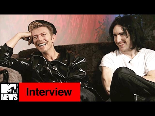 David Bowie Trent Reznor 1995 Interview with Kurt Loder | MTV News