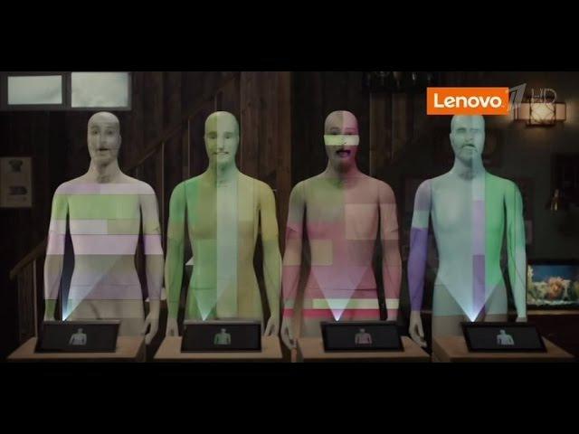 Реклама Планшет Леново Йога Таб Про 3 с проектором