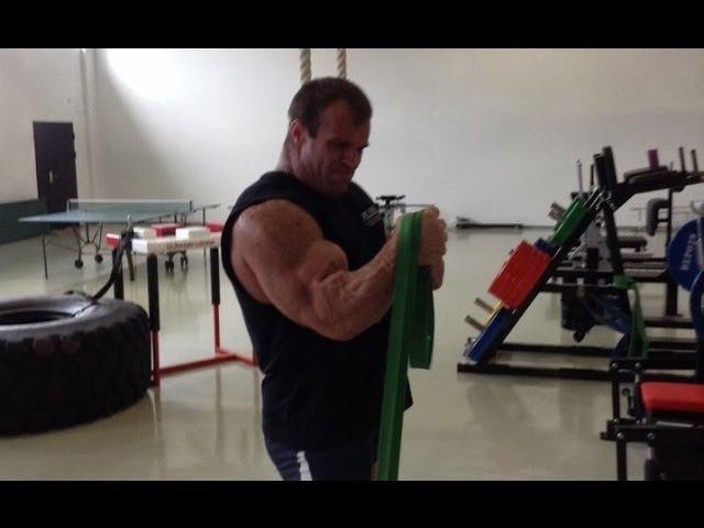 Денис Цыпленков о тренировках с резиной (Cyplenkov about training with rubber loops R4P)