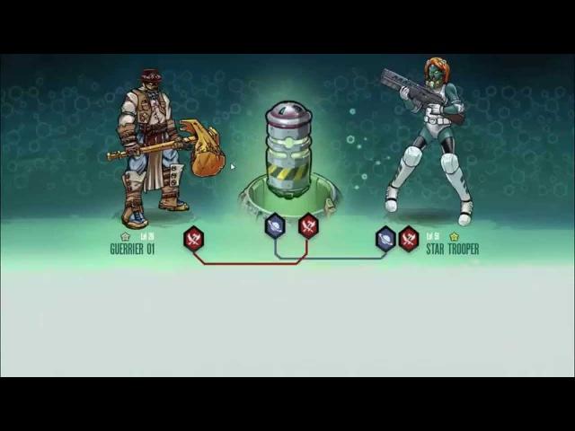 Кросс-мутация - звездный десантник (MGG) Мутанты: генетические войны