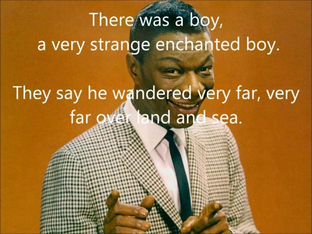 Nat King Cole - Nature Boy (With Lyrics)