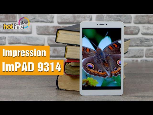 Обзор планшета - Impression ImPAD 9314 (2014)